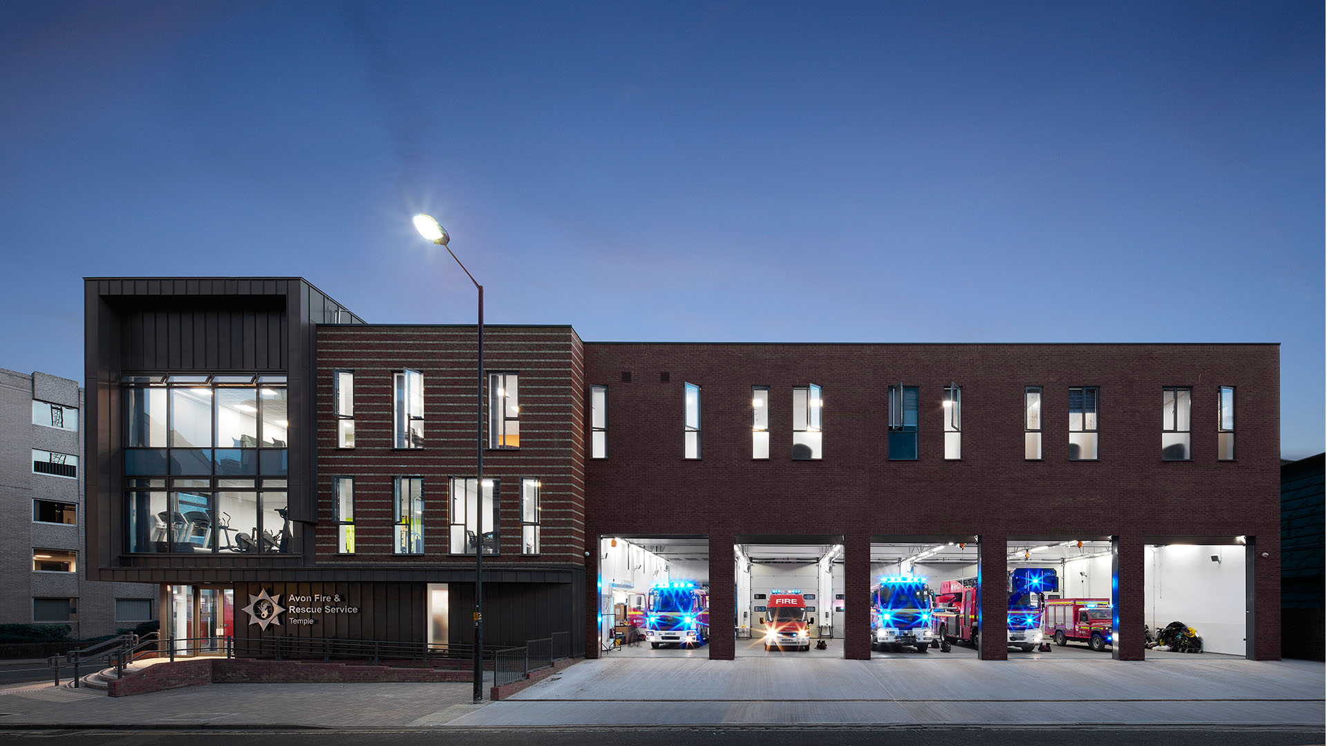 Temple Back Fire Station | Civic U0026 Community | AHR | Architects And  Building Consultants Amazing Ideas