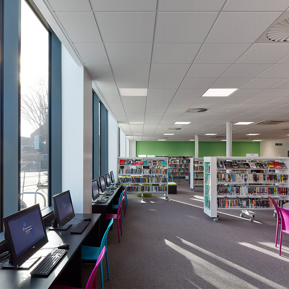 Arcadia library leisure centre sports ahr for Arcadia architects