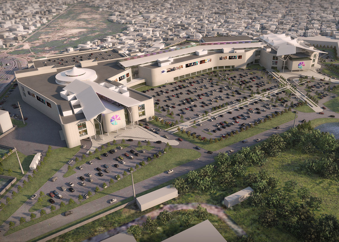 Packages Retail Mall | Retail | AHR | Architects and